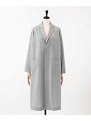 <HYKE>WOOL SHOP COAT(17143)