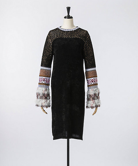 <mame>Ethnic Blend Knit One-Piece(MM17AW-KN071)