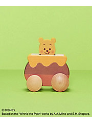 <KIDEA>Disney|KIDEA PUSH CAR くまのプーさん