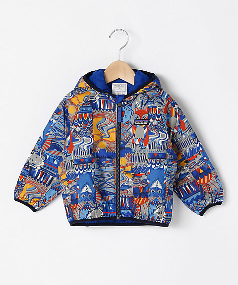 <patagonia> Baby Reversible Puff‐Ball Jacket