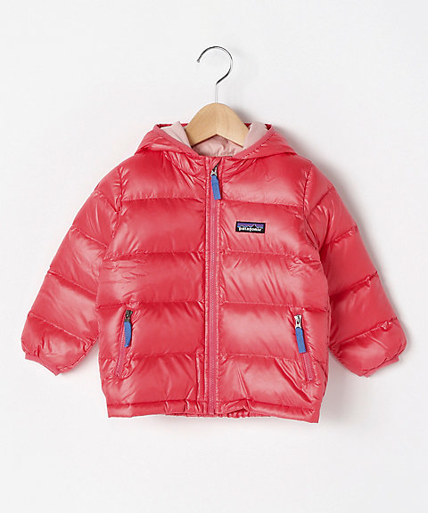<patagonia> Baby Hi‐Loft Down Sweater Hoody