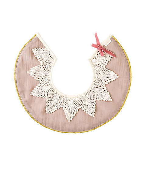 <MARLMARL> 【名入れ】スタイ dolce lace collar