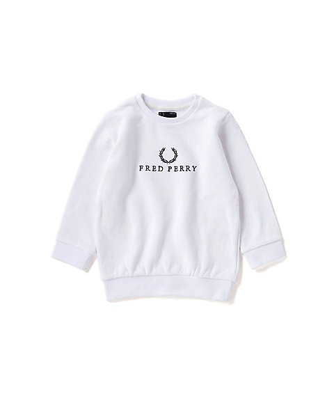 <FRED PERRY> モノクロームテニス スエット