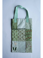 <patterie>PATCHWORK TOTE BAG(PR17AW-AC-T101101)