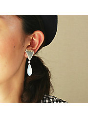 <patterie>EXOTIC DROP EARRING(PR16SS-AC-P001313-E)