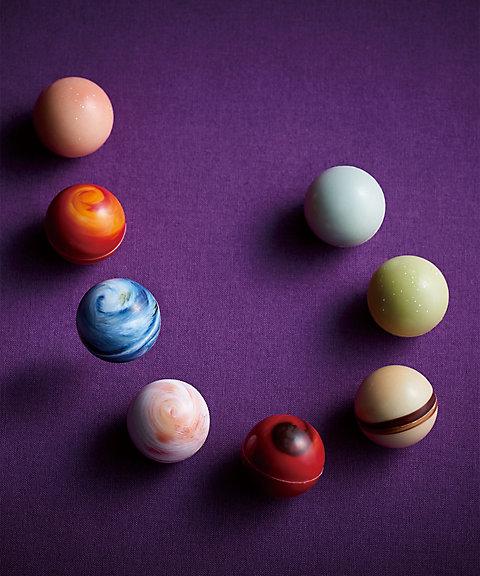"""惑星ショコラ""""惑星の輝き 8ヶ入""""(8種類 各1個)"""