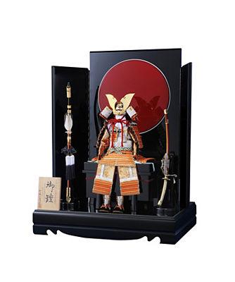 <三越・伊勢丹/公式>【カタログNo.三】一冑作・鎧飾りセット画像