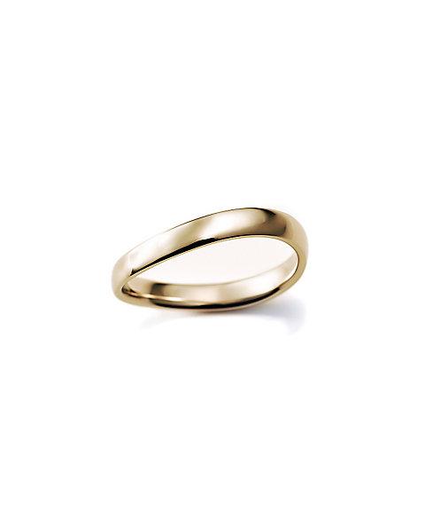 三越・伊勢丹オンラインストア<ISETAN MITSUKOSHI BRIDAL JEWELRY> 甲丸S字3.0mm 3号ー15号 ゴールド