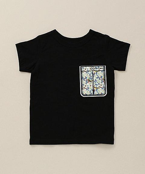 【SALE(伊勢丹)】 半袖Tシャツ クロ