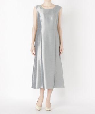 <三越・伊勢丹/公式> レンタルNO.57 ドレス(R0020) シルバー画像