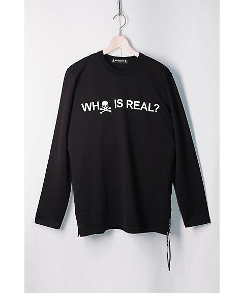 <マスターマインド・ジャパン/mastermind JAPAN> ロングTシャツ(8S-34-MJ18P02-TS140) BLACK 【三越・伊勢丹/公式】