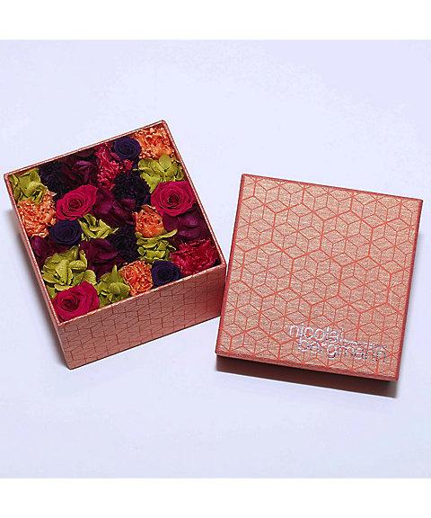 <Nicolai Bergmann Flowers & Design> 【伊勢丹オンラインストア限定】オリジナルプリザーブドフラワーボックス