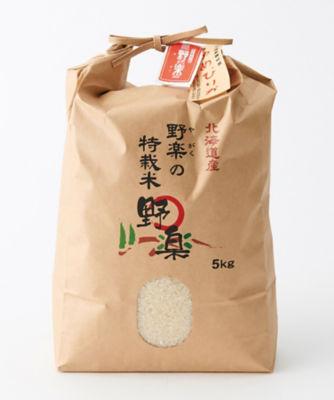 <三越・伊勢丹/公式> ★[産直]<野楽>特別栽培米 ゆめぴりか5kg画像