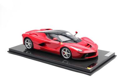 <三越・伊勢丹/公式> 送料無料!  ★<Amalgam>1:8スケールモデルカー FERRARI LaFerrari(2013)Red Red画像