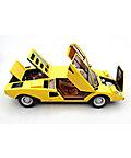 <三越・伊勢丹/公式>【送料無料】【1025イタ3】1:8スケールモデルカー Lamborghini Countach LP400(1974)Kerbsade Yellow Yellow画像
