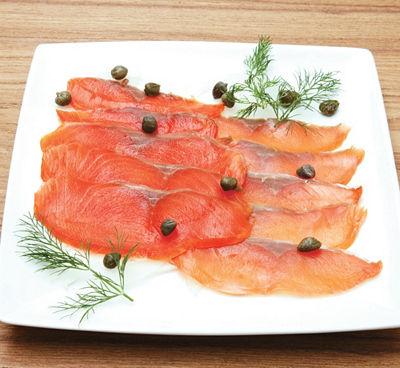 <三越・伊勢丹/公式> 北海道【鮭匠 ふじい】天然スモークサーモン食べ比べ画像