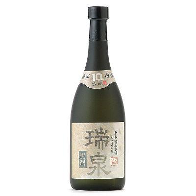 <三越・伊勢丹/公式><瑞泉酒造>43&deg;瑞泉 黒龍10年古酒(泡盛)画像