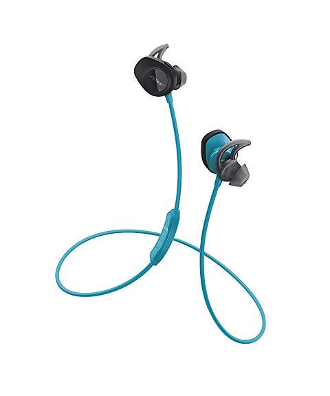 三越・伊勢丹オンラインストア<Bose> SoundSport wireless headphones ブラック アクア 【三越・伊勢丹/公式】