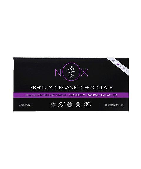 三越・伊勢丹オンラインストア<ノックス> プレミアムオーガニックチョコレート クランベリー