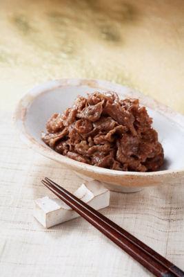 柿安の減塩牛肉しぐれ