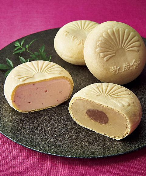 【お歳暮】【送料無料】 【C228673】〈飛騨・牧成舎〉焼いて美味しい、最中アイスセット