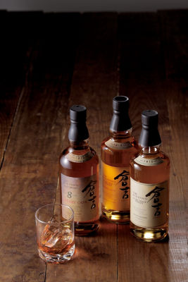 <三越・伊勢丹/公式><松井酒造>マツイピュアモルトウイスキー倉吉 シェリーカスク(写真中央)画像