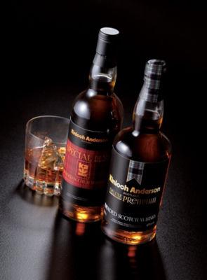 <三越・伊勢丹/公式><キンロック アンダーソン>スペシャル ブレンド スコッチウイスキー(写真左)画像