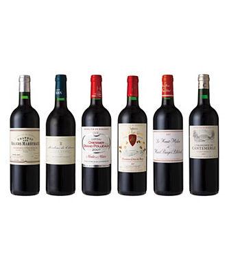 フランスボルドー地方からお届け! 10年塾生飲みくらべ赤ワイン6本セット