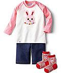 <三越・伊勢丹/公式> 【595083】〈ミキハウス〉Tシャツセット(ピンク)画像