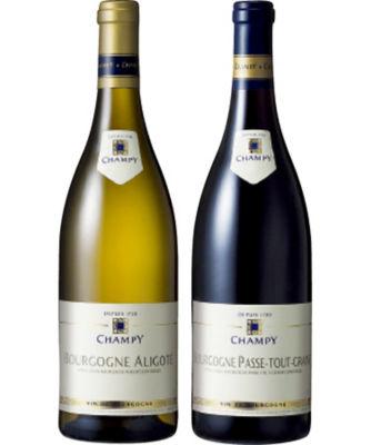 <三越・伊勢丹>【送料無料】【679553】〈シャンピー〉ブルゴーニュ赤白ワインセット
