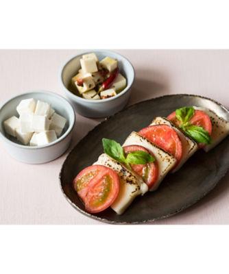 <三越・伊勢丹/公式>【SALE(伊勢丹)】 050ヘルシーなのにチーズの味わいや質感はそのまま チーズのような豆乳ぶろっく3種詰合せ画像