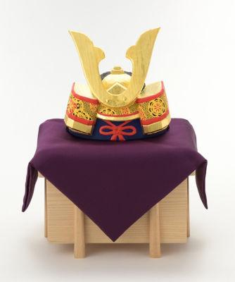 <三越・伊勢丹/公式> 五月人形<瀬谷桃源>兜 大画像