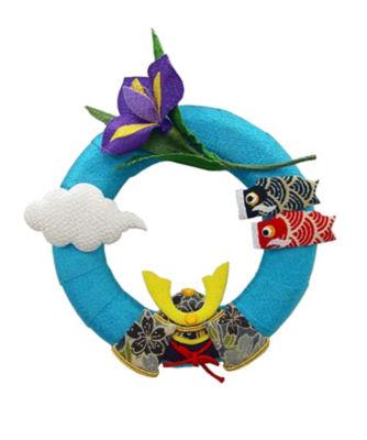<三越・伊勢丹/公式> 季節のリース(スタンド付) 鯉のぼり 5月画像