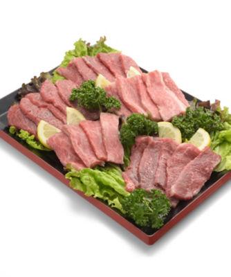 天草黒牛の焼肉セット(Amakusa-Black Sliced Beef Set For BBQ)