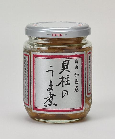 <三越・伊勢丹/公式><新潟 加島屋> 貝柱のうま煮(大ビン)