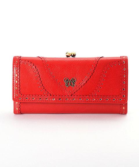 <アナ スイ(ANNA SUI)> 「ノスタルジー」外口金かぶせ長財布(312350)