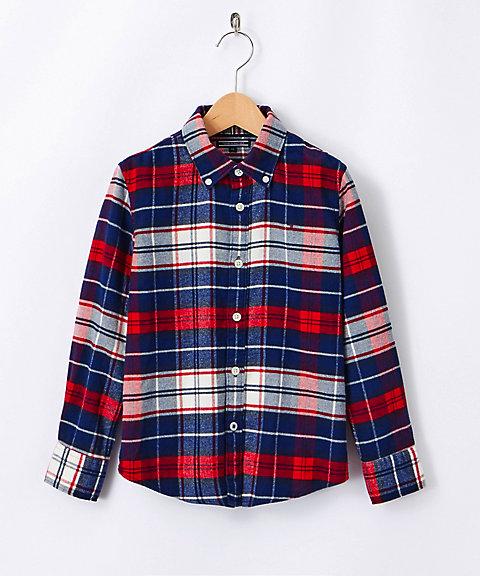 <TOMMY HILFIGER/トミー ヒルフィガー> ネルシャツ(KBOKB03340) マルチ 【三越・伊勢丹/公式】