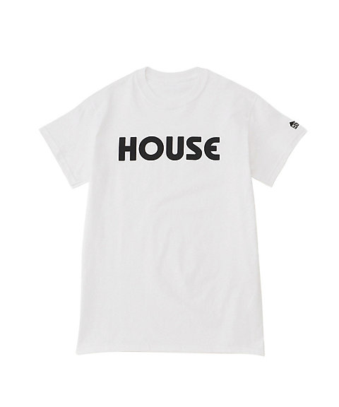 <IN THE HOUSE> HOUSE TEE(Men's) シロ 【三越・伊勢丹/公式】