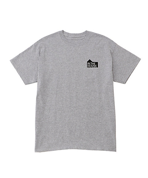 <IN THE HOUSE> HOUSE MARK TEE(Men's) グレー 【三越・伊勢丹/公式】