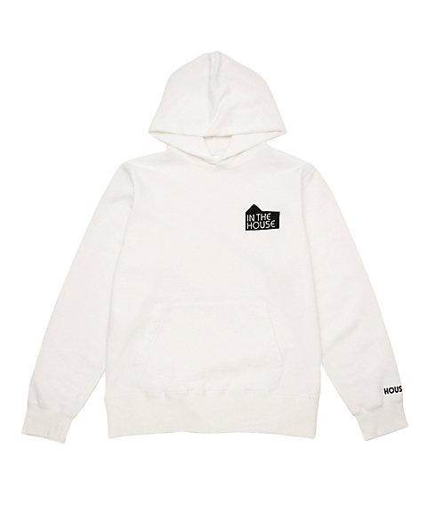 <IN THE HOUSE> HOUSE MARK SWEAT HOODIE(Men's) シロ 【三越・伊勢丹/公式】
