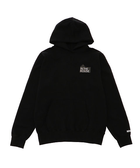 <IN THE HOUSE> HOUSE MARK SWEAT HOODIE(Men's) グレー 【三越・伊勢丹/公式】
