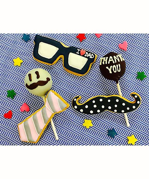 三越・伊勢丹オンラインストア【はじまりのカフェ】「ありがとう」のポップケーキとアイシングクッキーに挑戦!