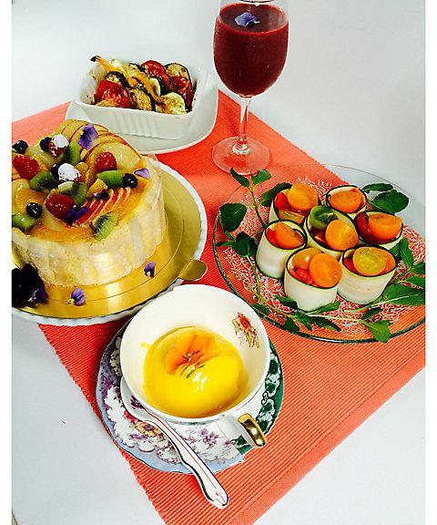 【はじまりのカフェ】バイタミックスでつくる色彩豊かなビタミンカラーレシピ