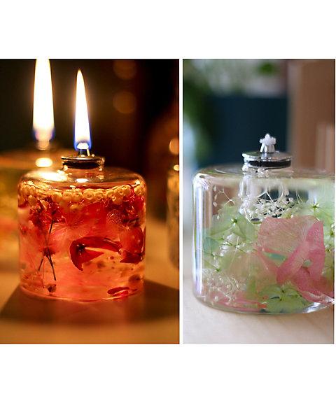 <三越・伊勢丹/公式> 【はじまりのカフェ】花が灯るFLOWERiUM(R)キャンドルランプ