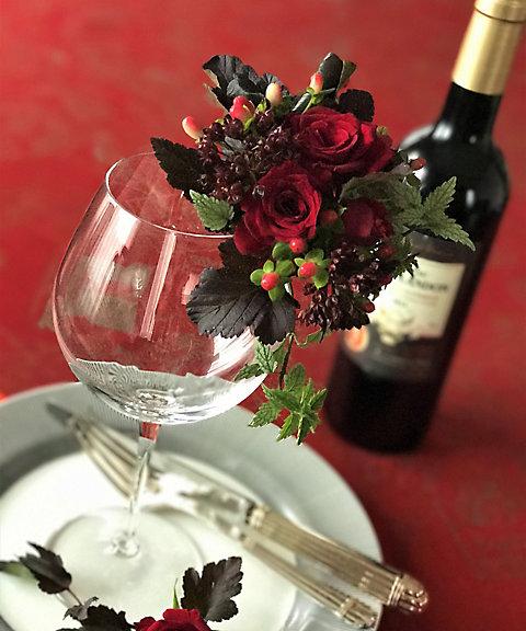 <三越・伊勢丹/公式> 【はじまりのカフェ】<クリナップ>ドラマティックなおもてなし~ワインとお花のマリアージュ~