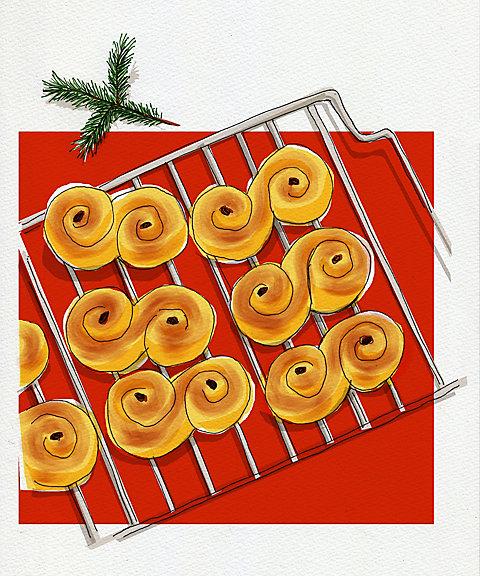 <三越・伊勢丹/公式> 【はじまりのカフェ】FIKA体験 北欧スウェーデンの★クリスマス準備