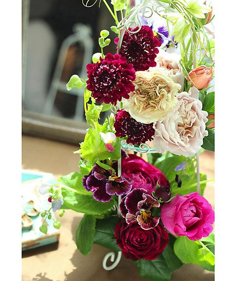 三越・伊勢丹オンラインストア[35]フレッシュフラワー~薔薇のお庭~ 【三越・伊勢丹/公式】