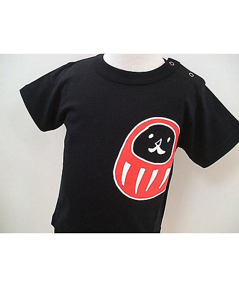 Tシャツ ダルマ クロ