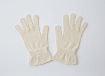<三越・伊勢丹/公式> 保湿手袋(468508) ナチュラル画像