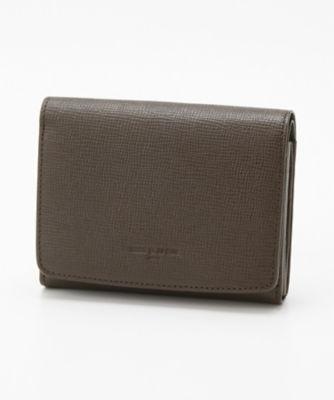<三越・伊勢丹/公式> 「シュリー」折財布(76003) ブラウン画像